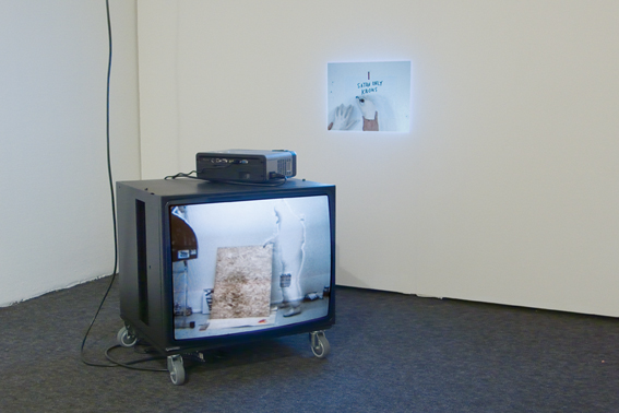 <br>Monitor and video projection